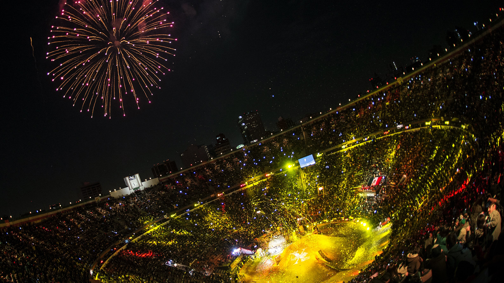 Red Bull X-Fighters Mexico - Aearial View