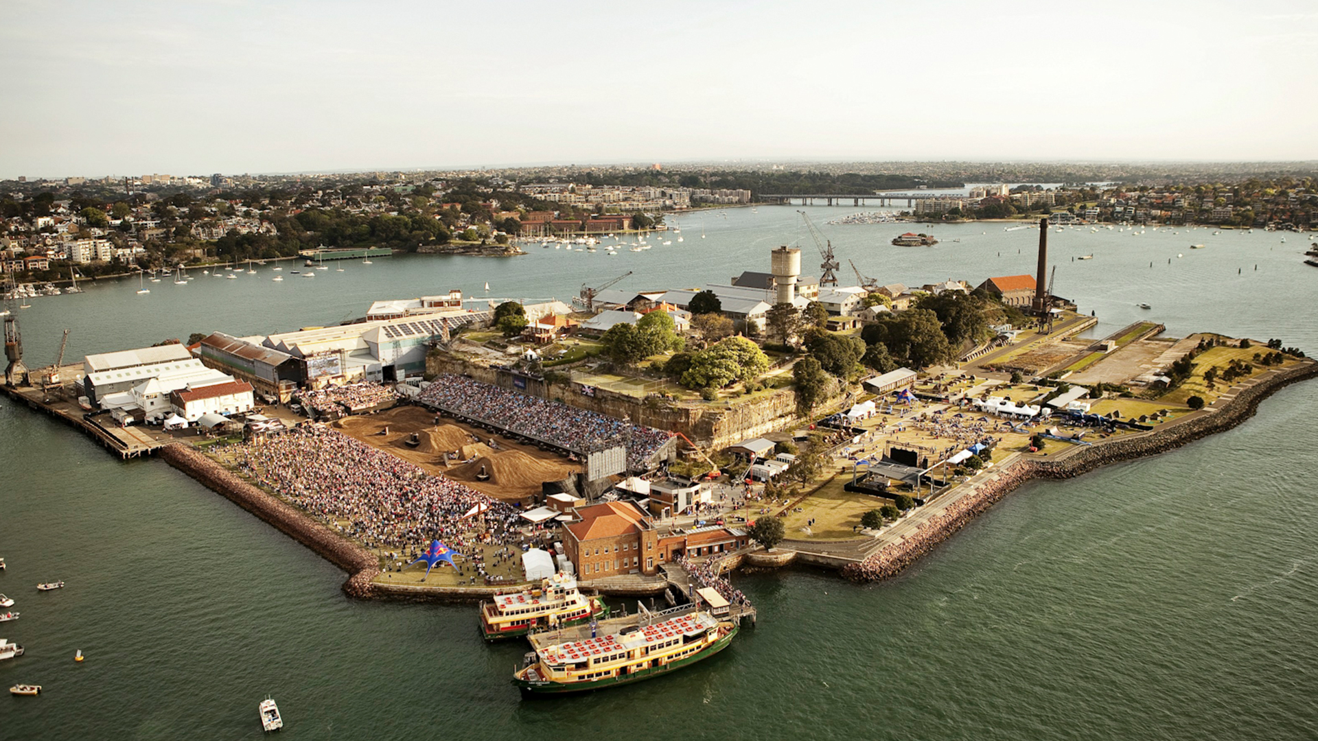 Red Bull X-Fighters Sydney - Aearial View