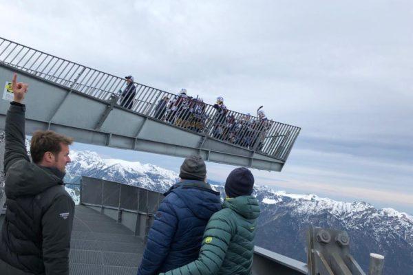 SC Riessersee - Dreh Zugspitze