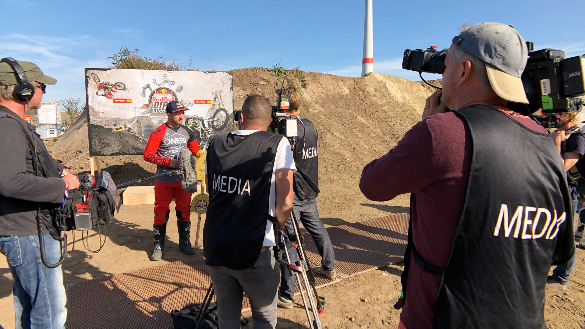 Red Bull Dirt Diggers - BTS Crew Event Winner ITV