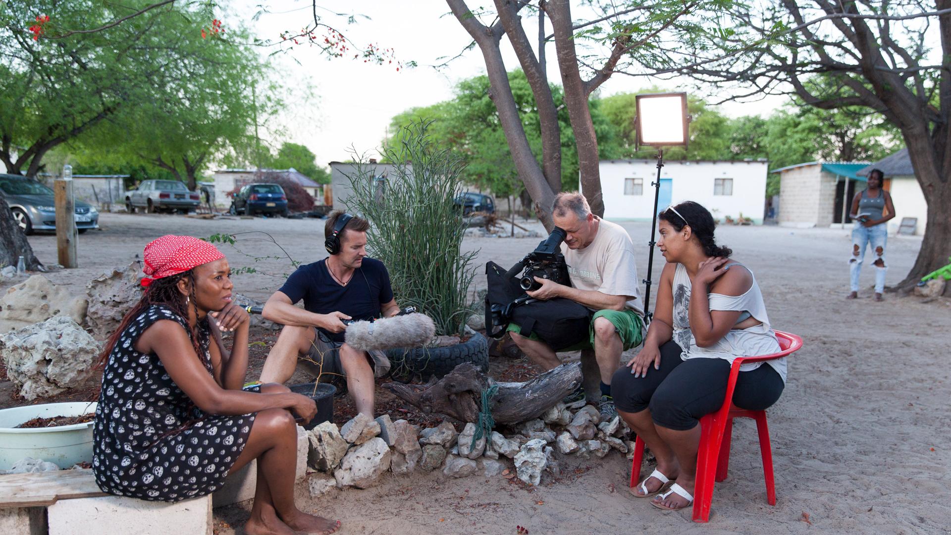 Arte Documentary - Queens of Botswana - Making of Image 11