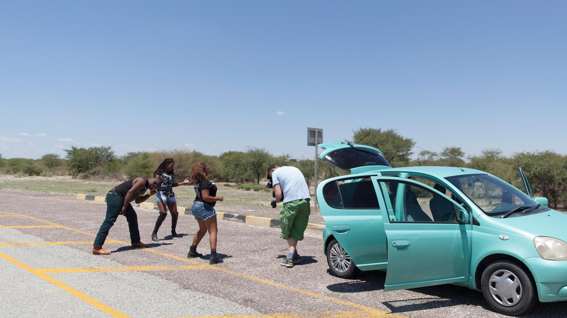 Arte Documentary - Queens of Botswana - Making of Image 6