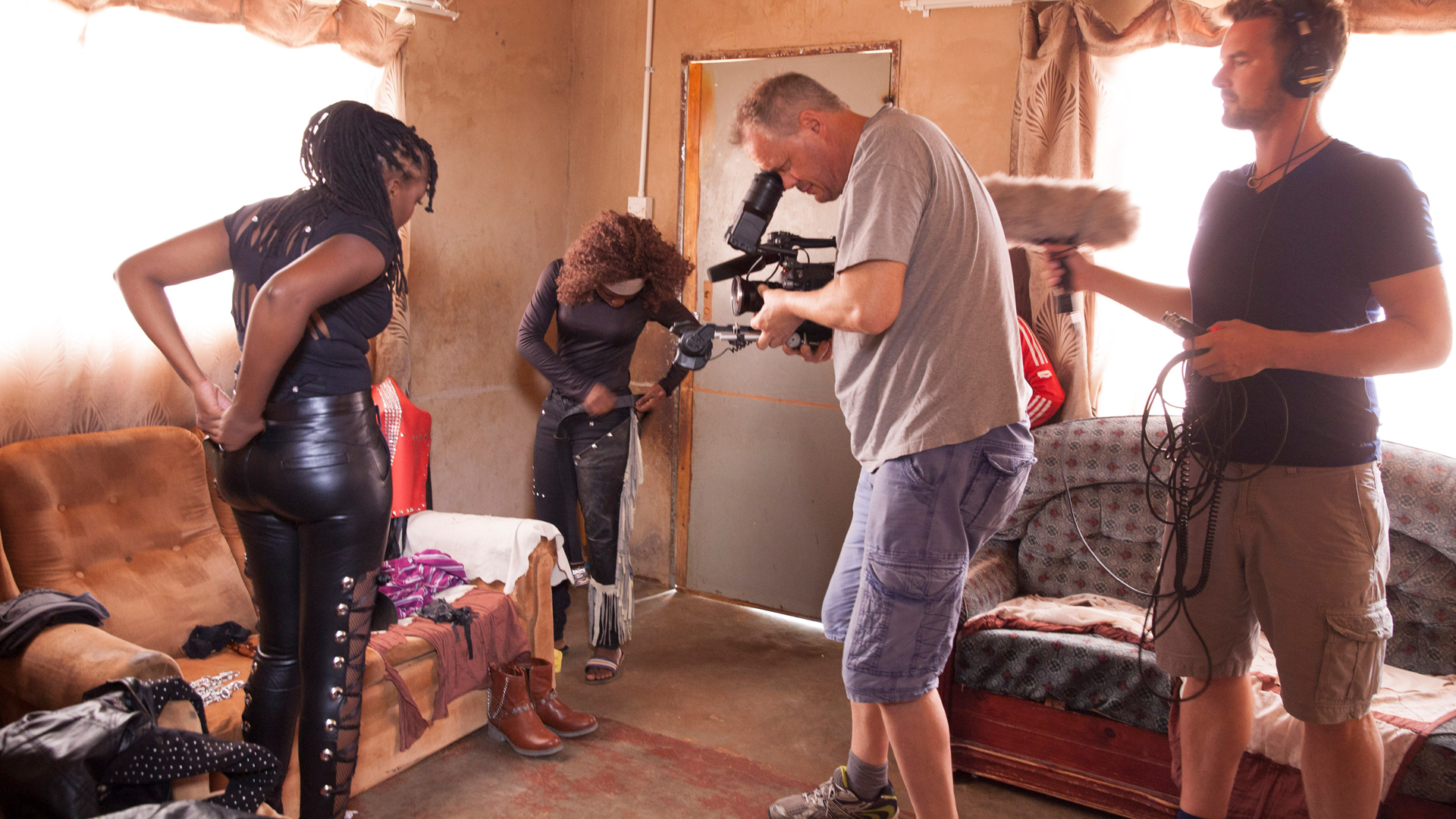 Arte Documentary - Queens of Botswana - Making of Image 9