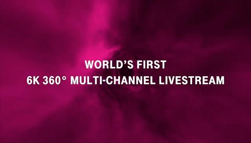 Telekom VR - 6K Multichannel Livestream Keyframe Video