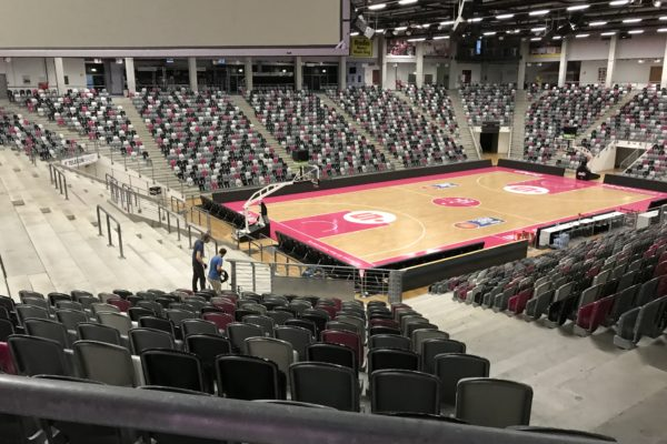 Telekom Magenta - The Arena from the inside