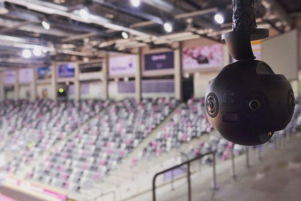 Telekom Magenta - VR Camera in the arena