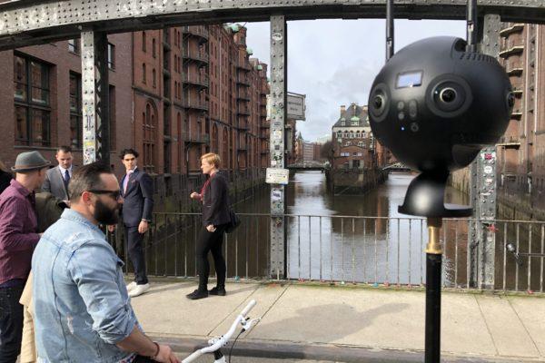 VR Setup - Outside the Hotel