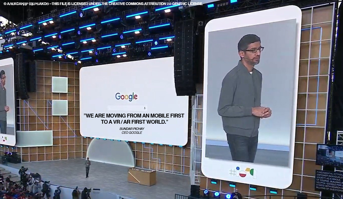 Google - CEO IO 2019 © Александр Щербаков  This file is licensed under the Creative Commons Attribution 2.0 Generic license.