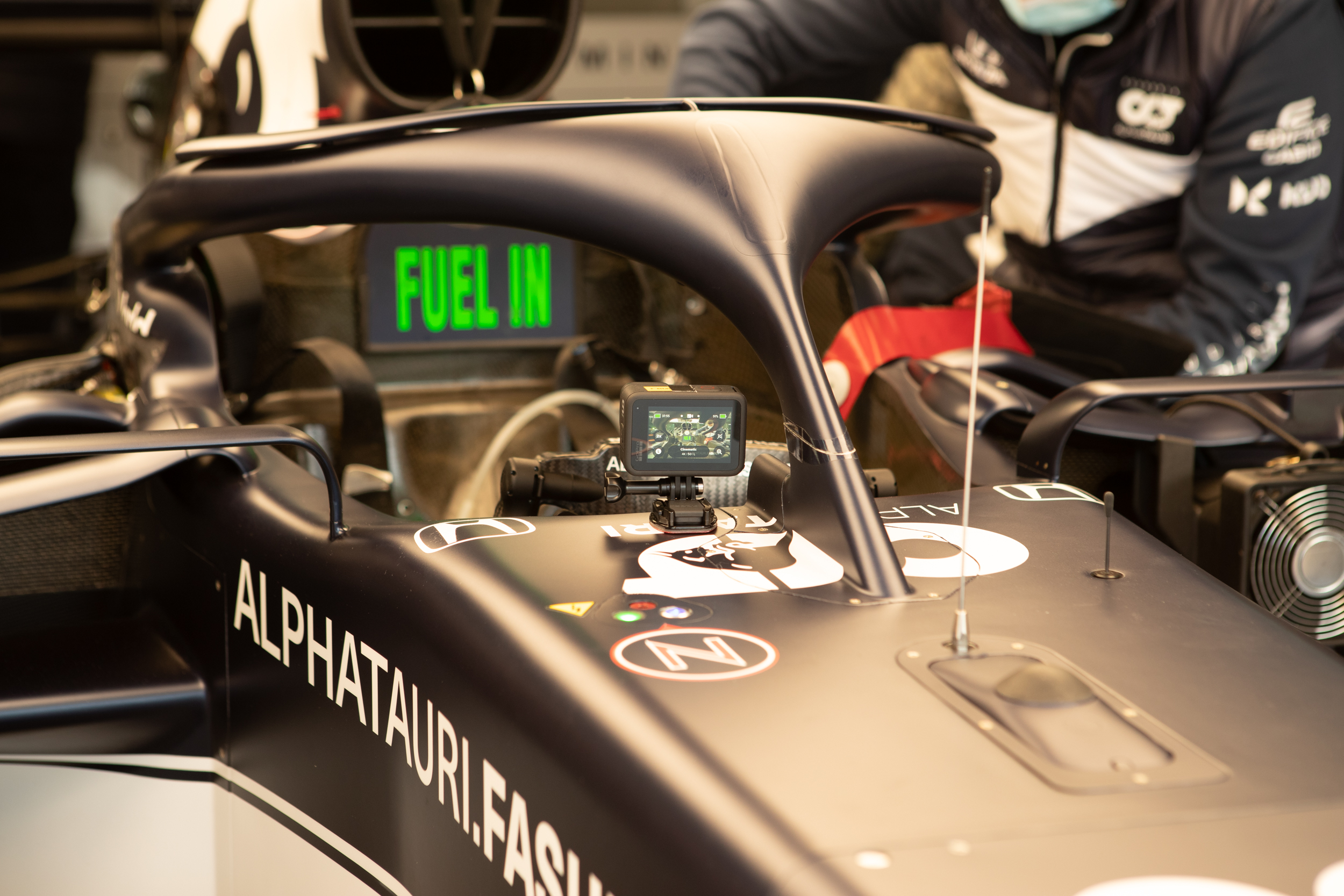 GoPro Test Mounting - Alpha Tauri F1 Shakedown 2021