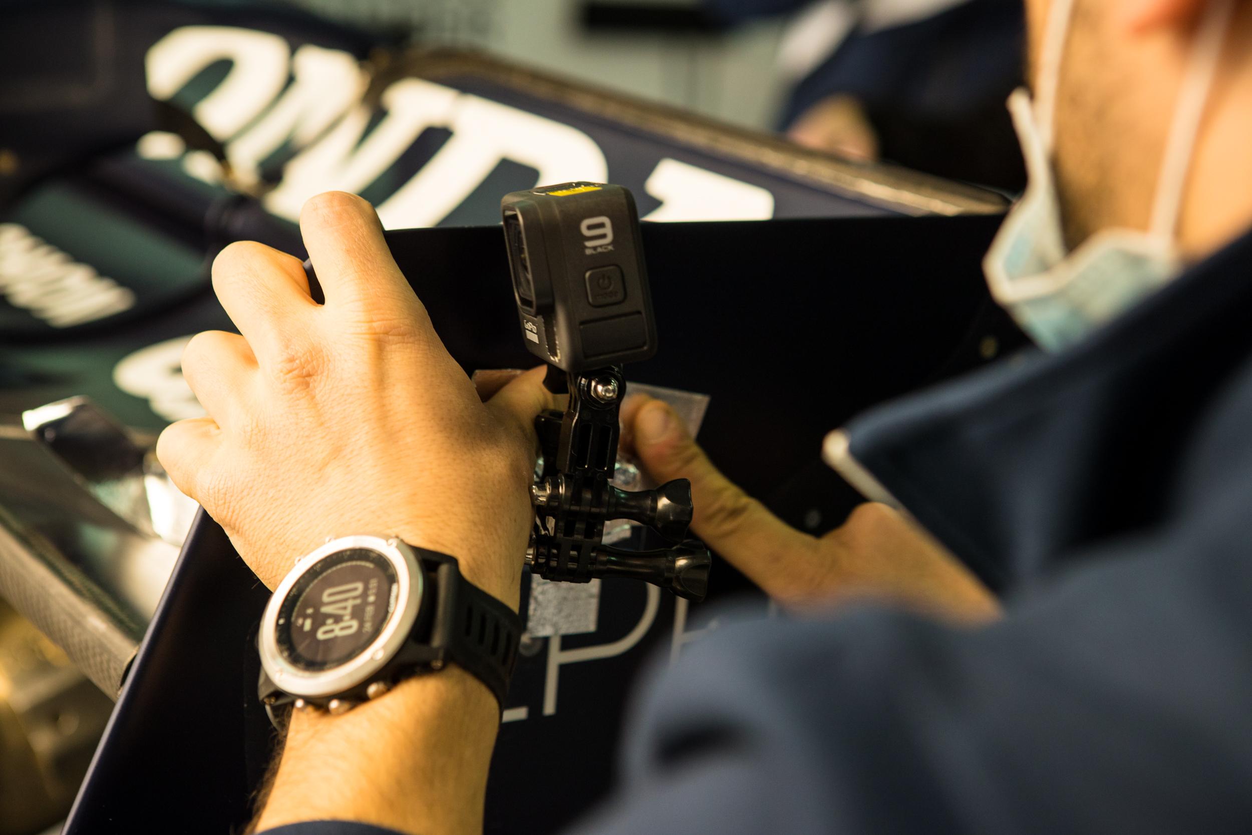 GoPro Mounting - Alpha Tauri F1 Shakedown 2021