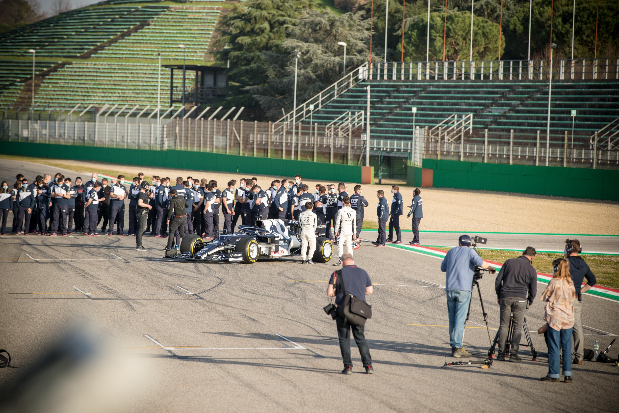 Final Set - Alpha Tauri F1 Shakedown 2021