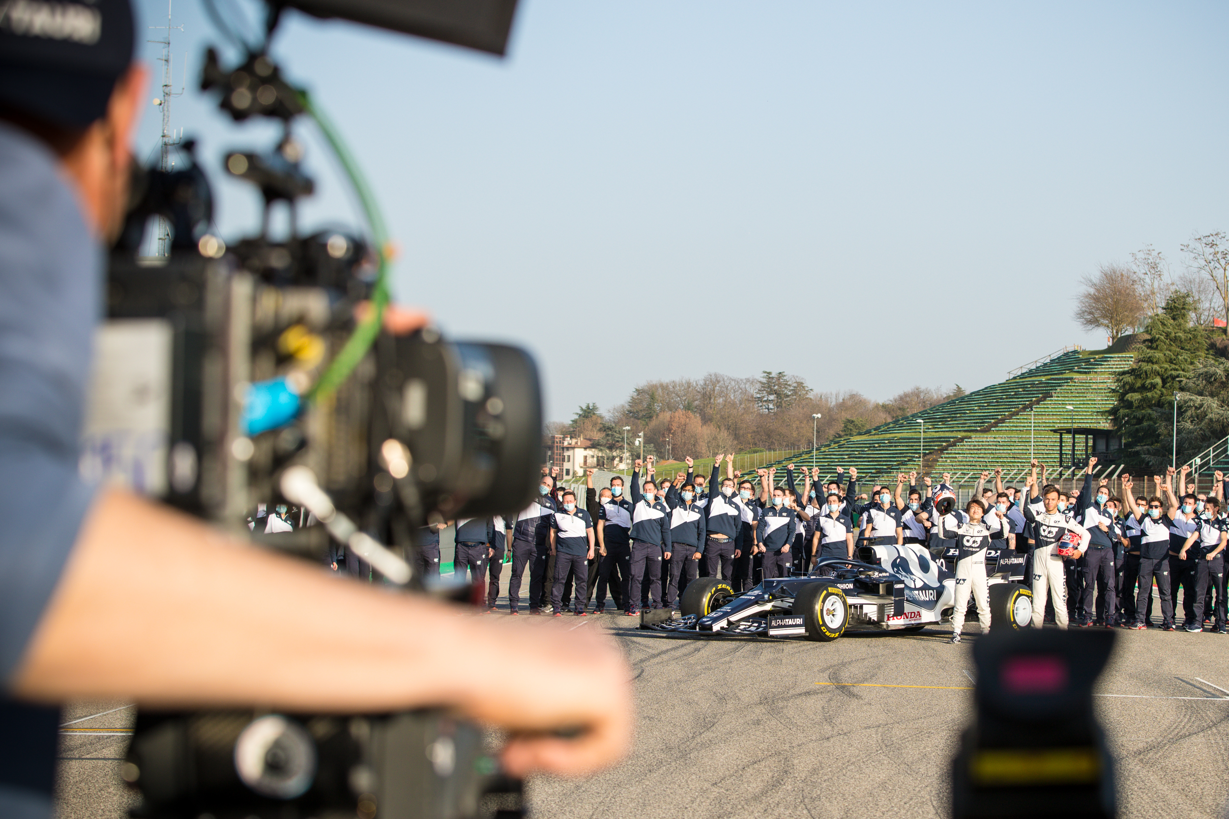 Final Team Shoot - Alpha Tauri F1 Shakedown 2021