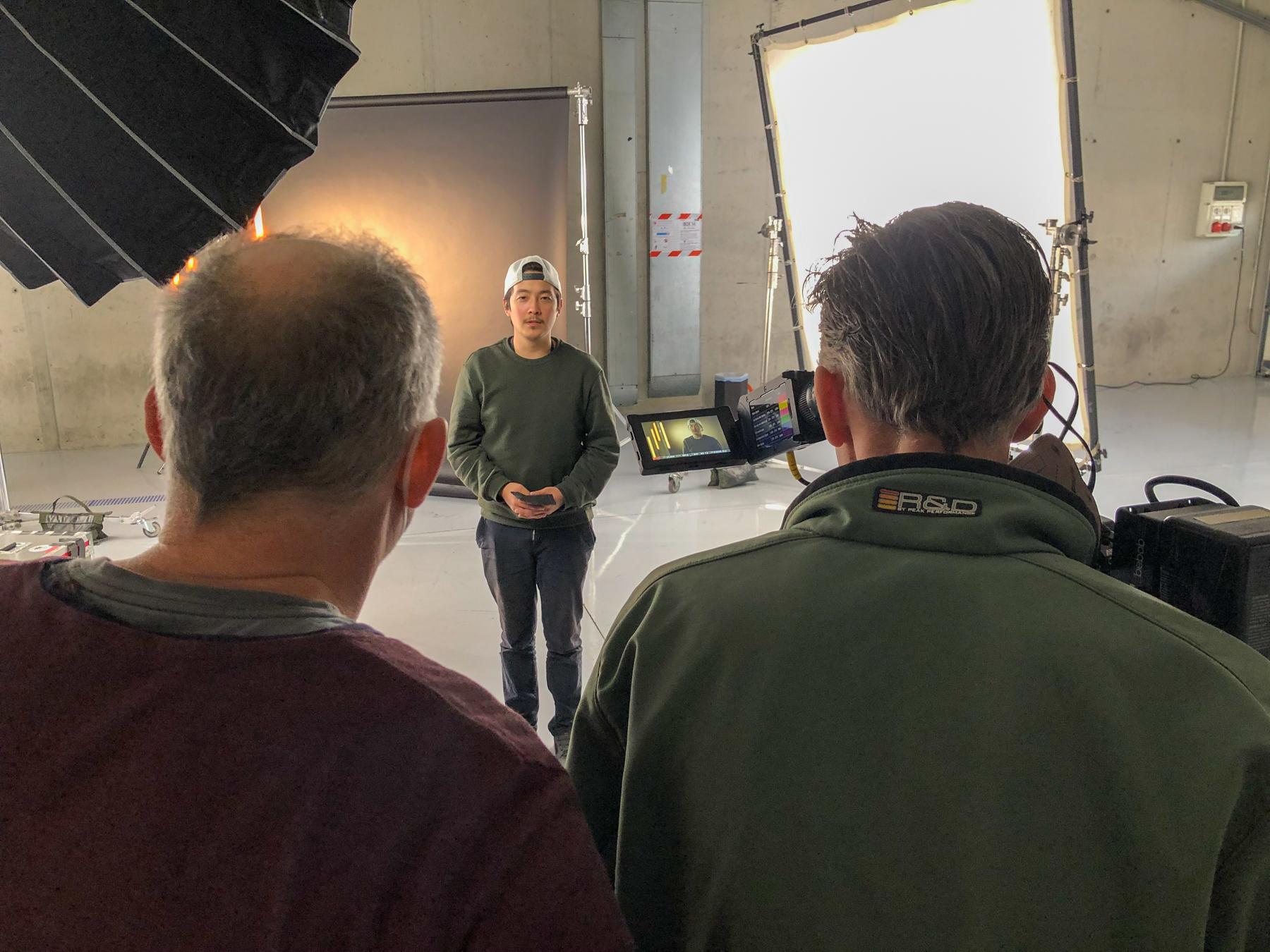 Tenzin, Frank & Tobi testing the ITV Set-Up - Alpha Tauri F1 Shakedown 2021