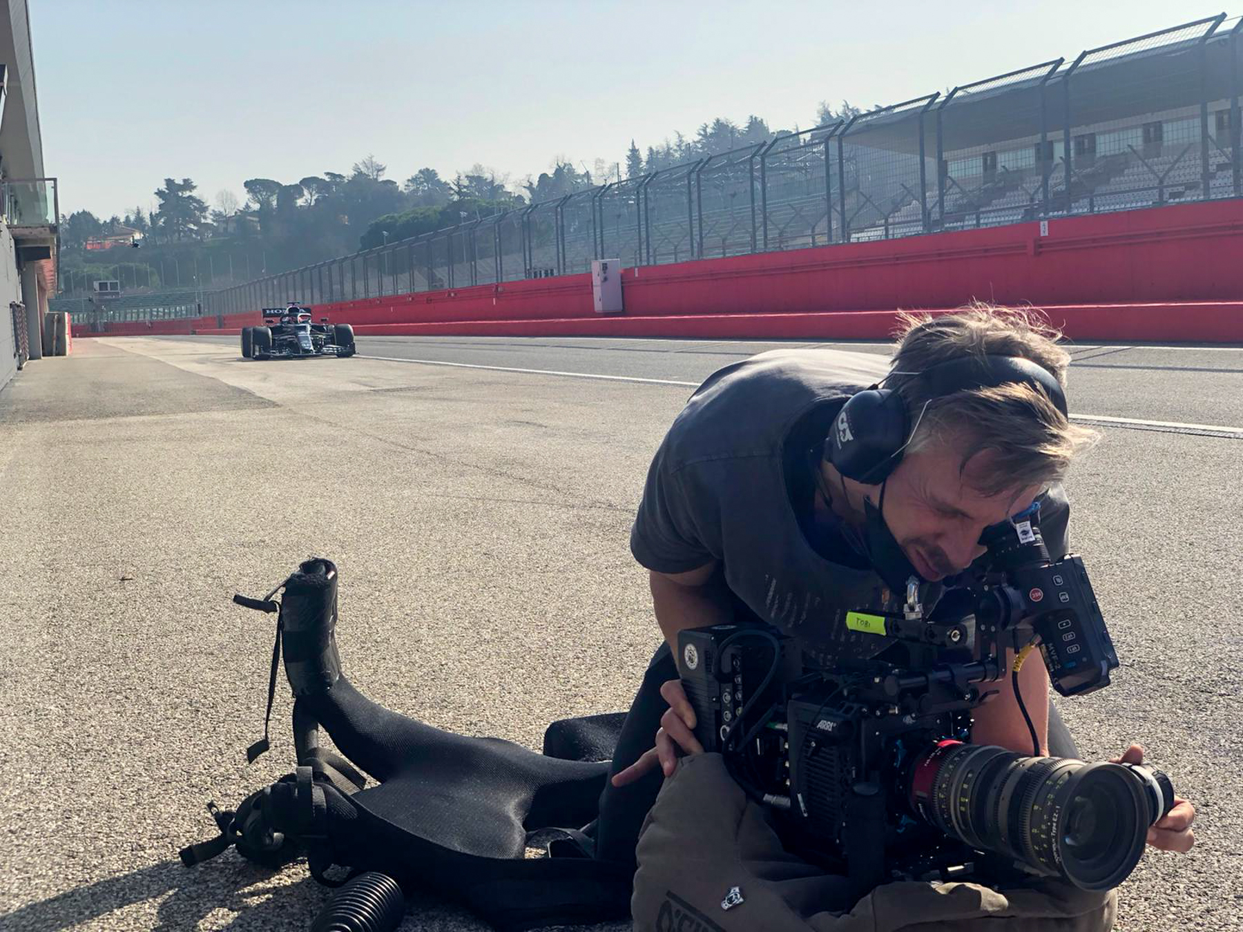 Tobi is ready - Alpha Tauri F1 Shakedown 2021