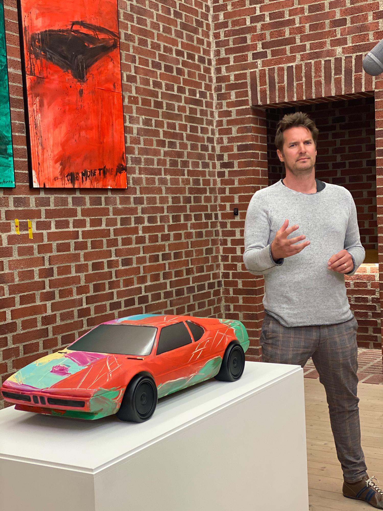 ABGEFAHREN - das Auto in der Kunst - Stefan Kleinalstede