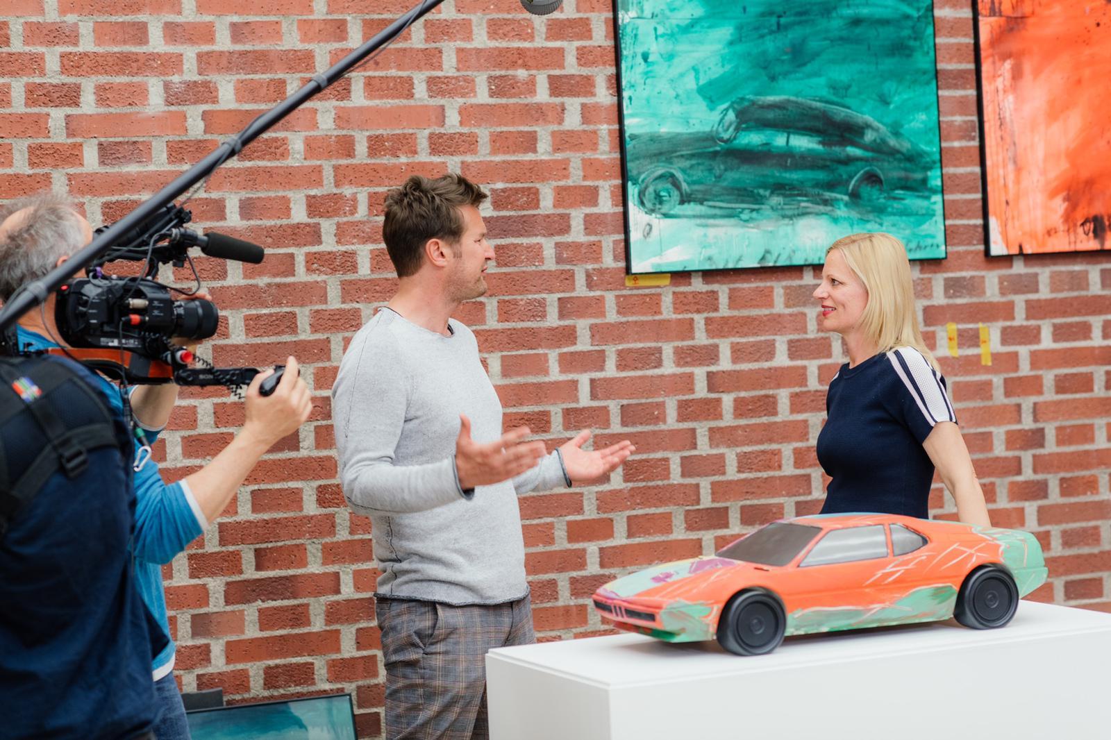 ABGEFAHREN - das Auto in der Kunst - Frank, Stefan & Sinja