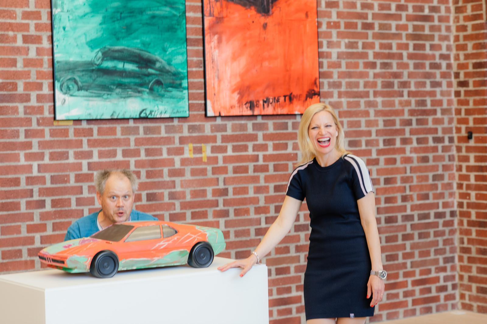 ABGEFAHREN - das Auto in der Kunst - Sinja Grimme & Frank Becht